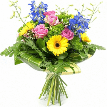 Send Flowers by post